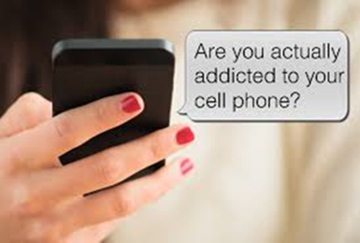 are you addicted to your phone