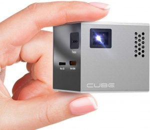 Smallest Portable Projector: RIF6 Cube